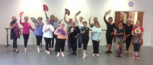Bev Lyn Dance Silver Swans Gallery Image
